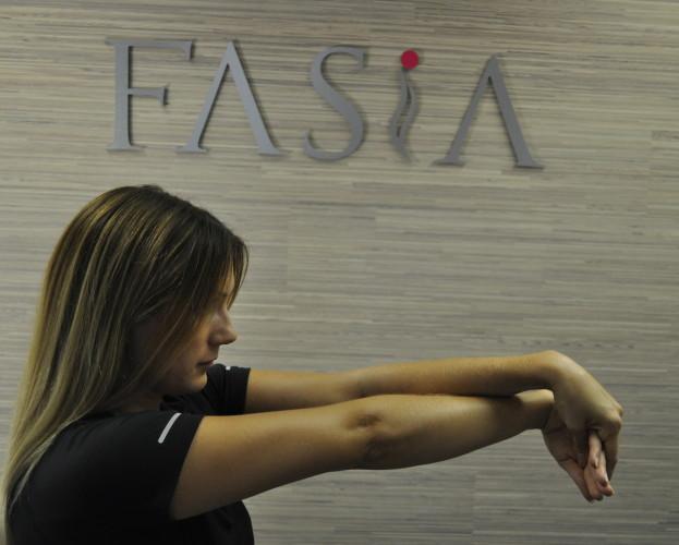 Tøyning av underarm, FASiA osteopati